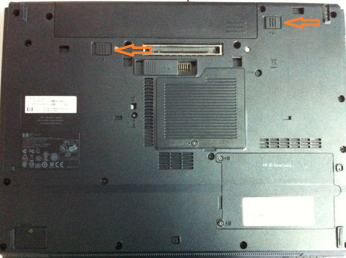 Cum se inlocuieste HDD la HP Compaq 6710b
