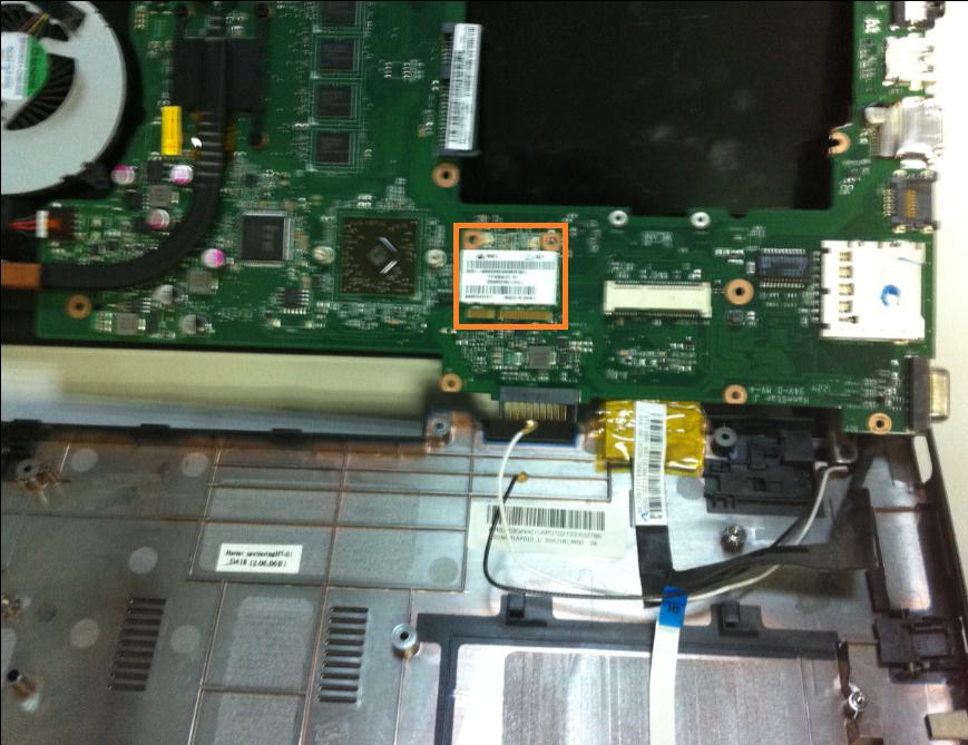 Inlocuire modul wifi la laptop asus x401u new modem