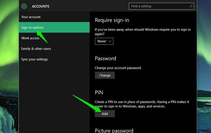 Windows-10-Add-PIN
