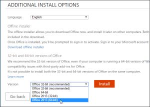 Alegerea installer-ului in functie de sistem de operare