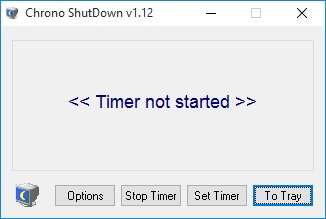 shutdown chrono