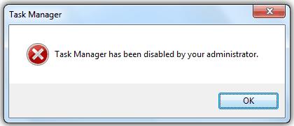 cum rezolvi eroare task manager cannot open error