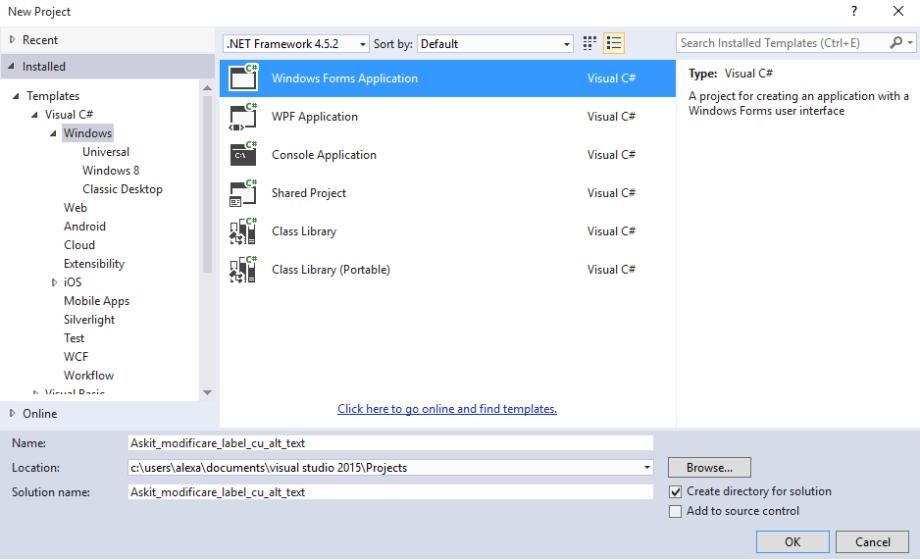 2_Programare_alicatii_CSharp_Modificare_text_lable