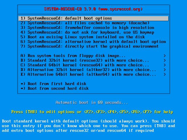 SystemRescueCD1_PreBoot1