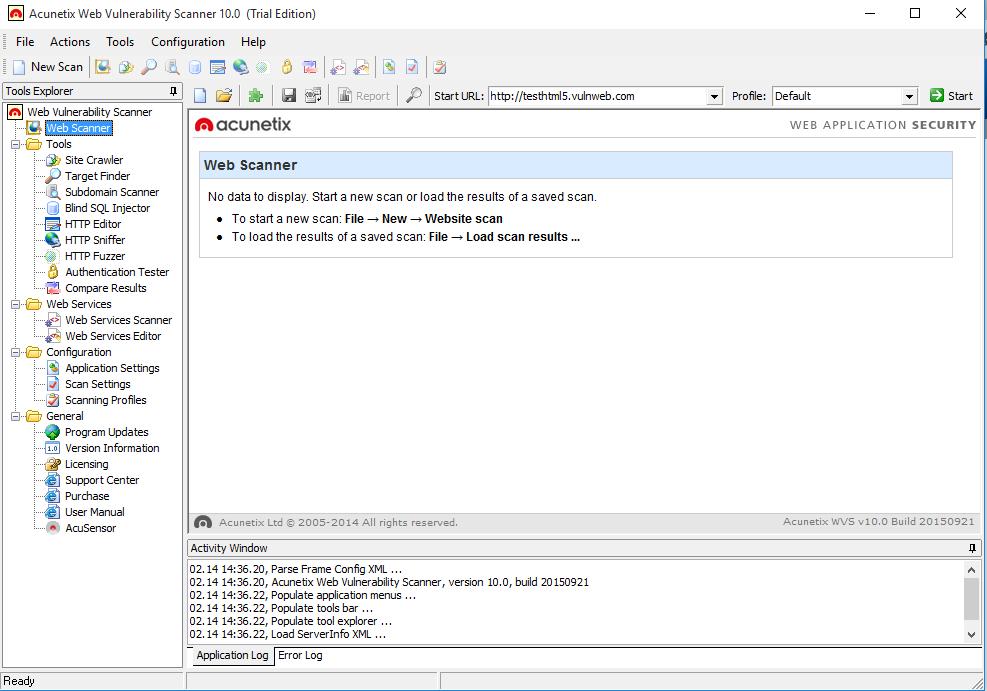 instalare pas cu pas acunetix i agree calea certificat install root certificate finish OPEN