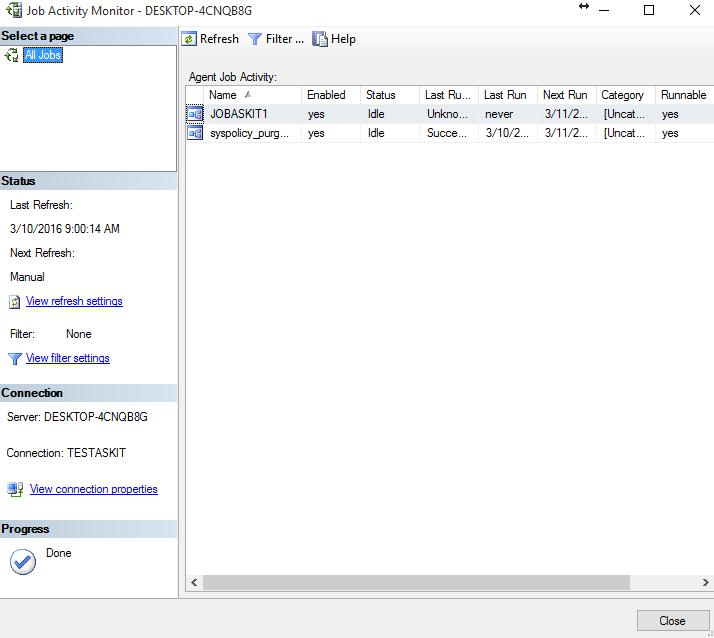 8_Crearea_de_joburi_programabile_cu_Job_Activity_Monitor_din_MSSQL Server