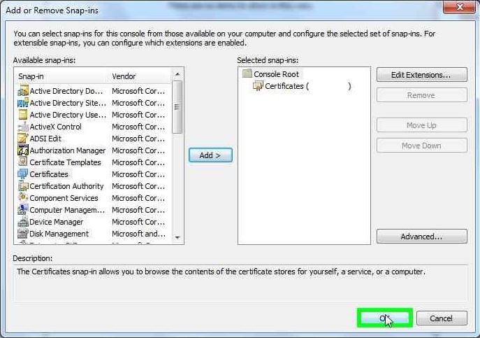 certificates-remote