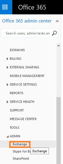 cum sa exporti lista cu adresele de email in office 365 exchange