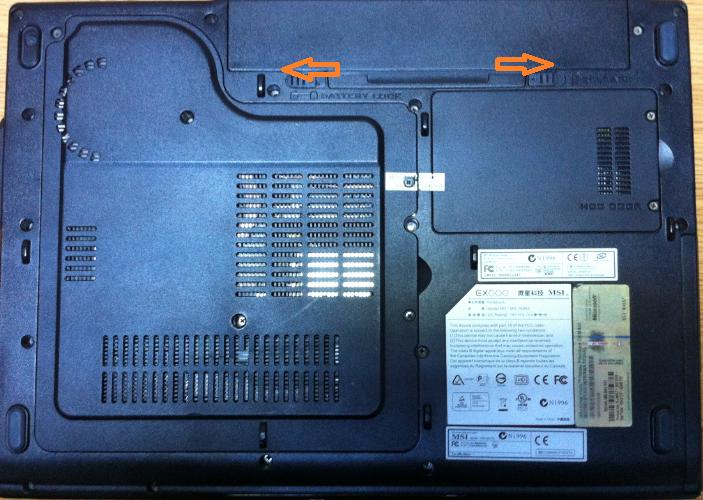 inlocuire memorie ram laptop msi ex600