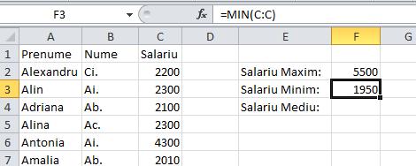 3_Functile_de_Excel_pentru_maxim_minim_medie_al_unor_date_numerice