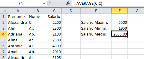 4_Functile_de_Excel_pentru_maxim_minim_medie_al_unor_date_numerice
