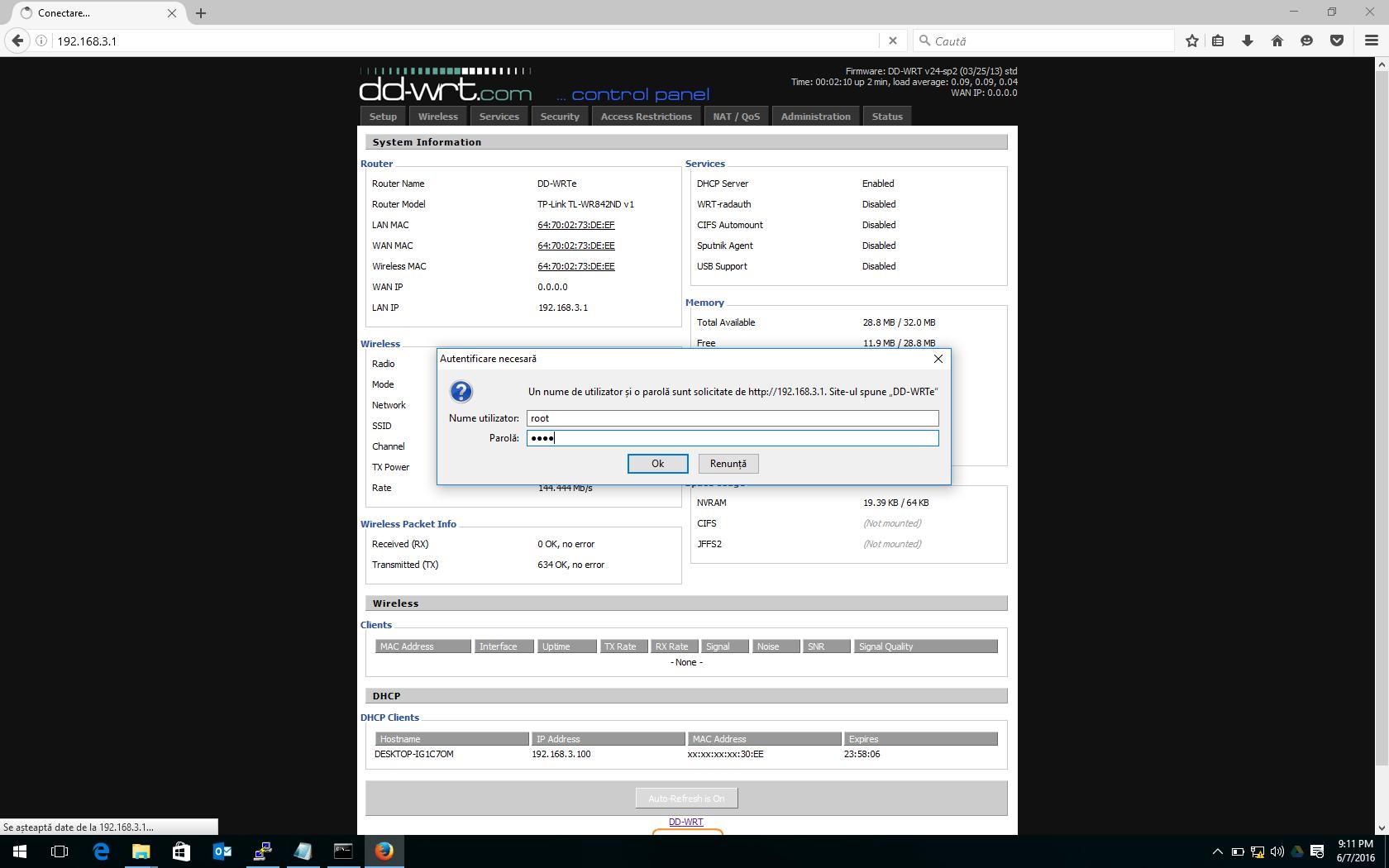 TP-link Wr-842nd DD-WRT web-revert firmware stock – Askit   Solutii