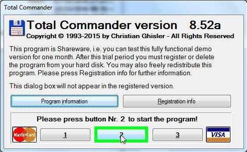 start-total-commander