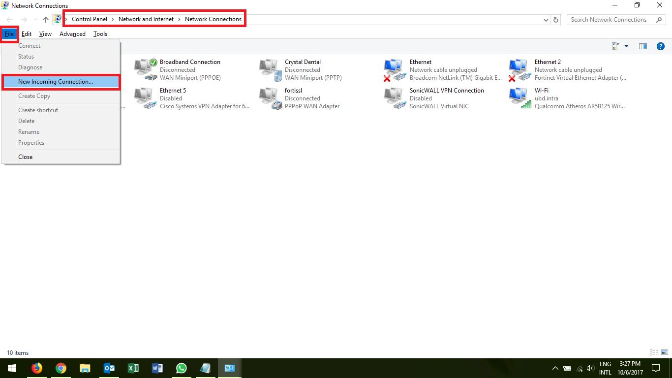 Permanent vpn connection windows 10